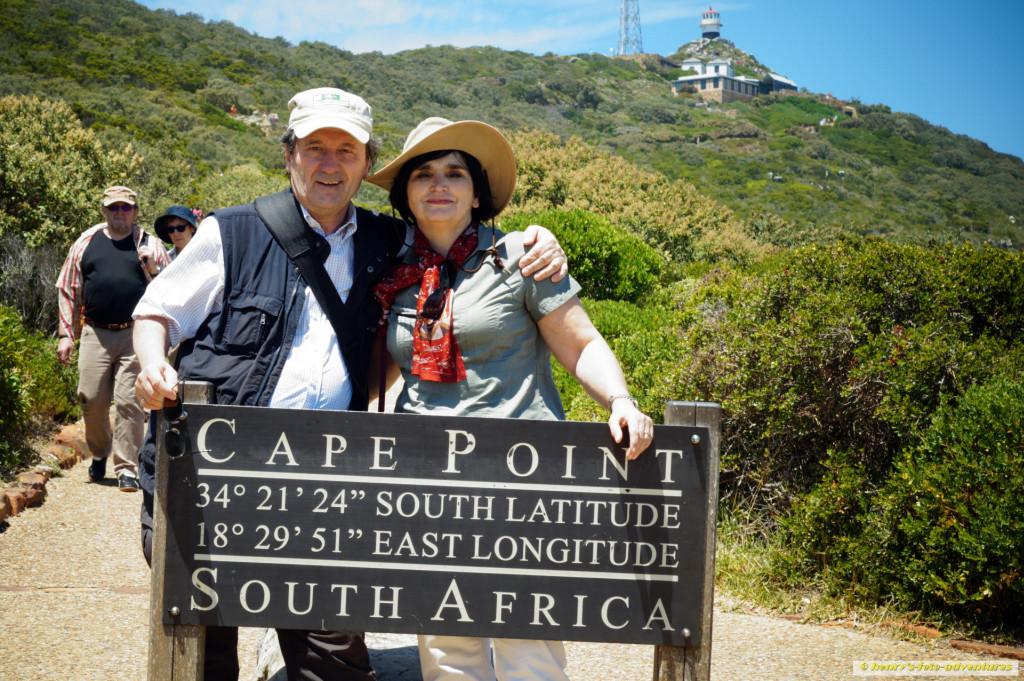 die südlichste Spitze Afrikas ist erreicht