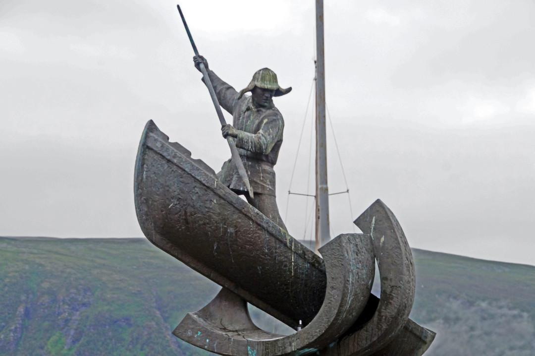 ein Denkmal für die Walfänger