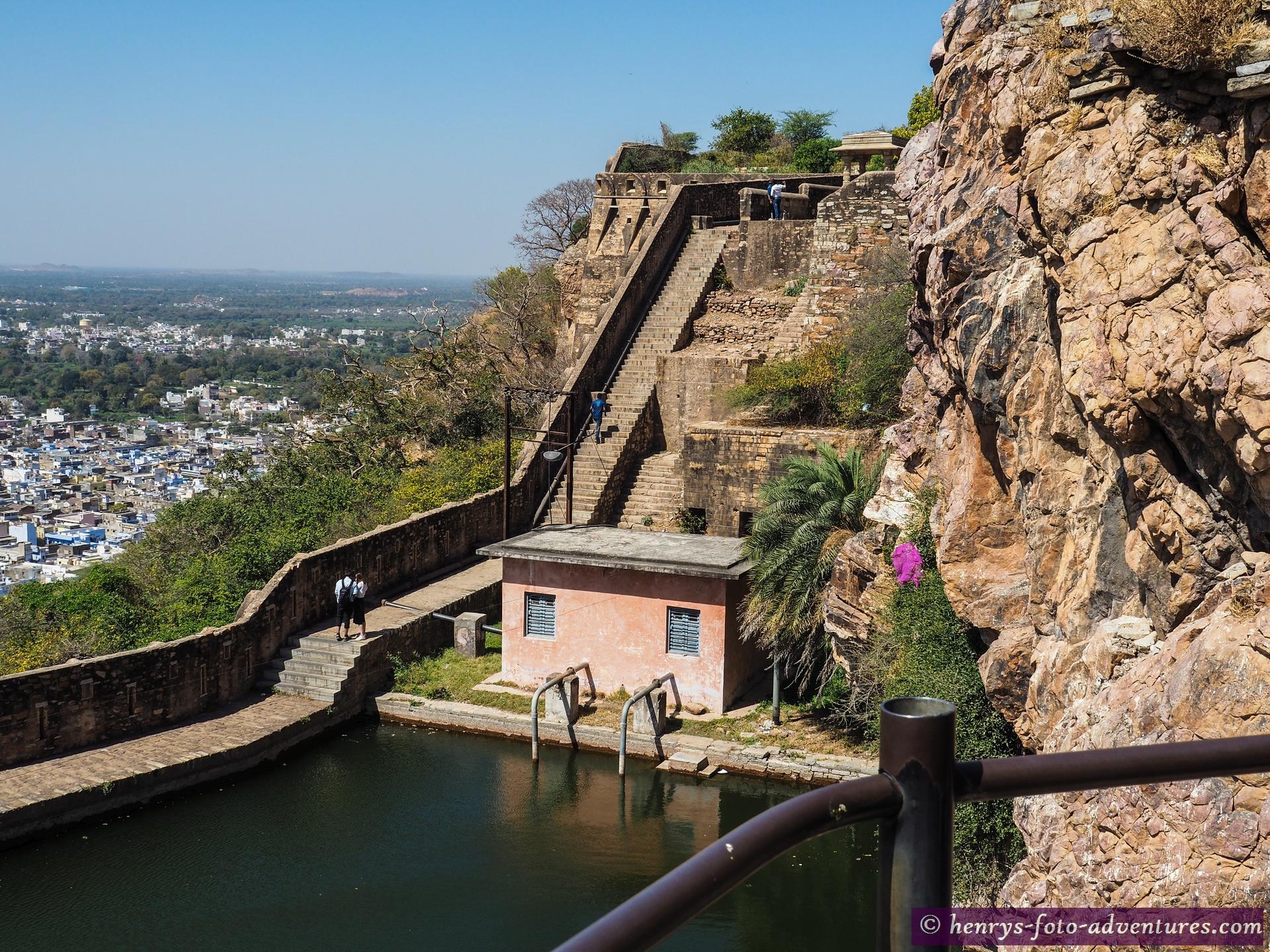 das Gaumukh Reservoir