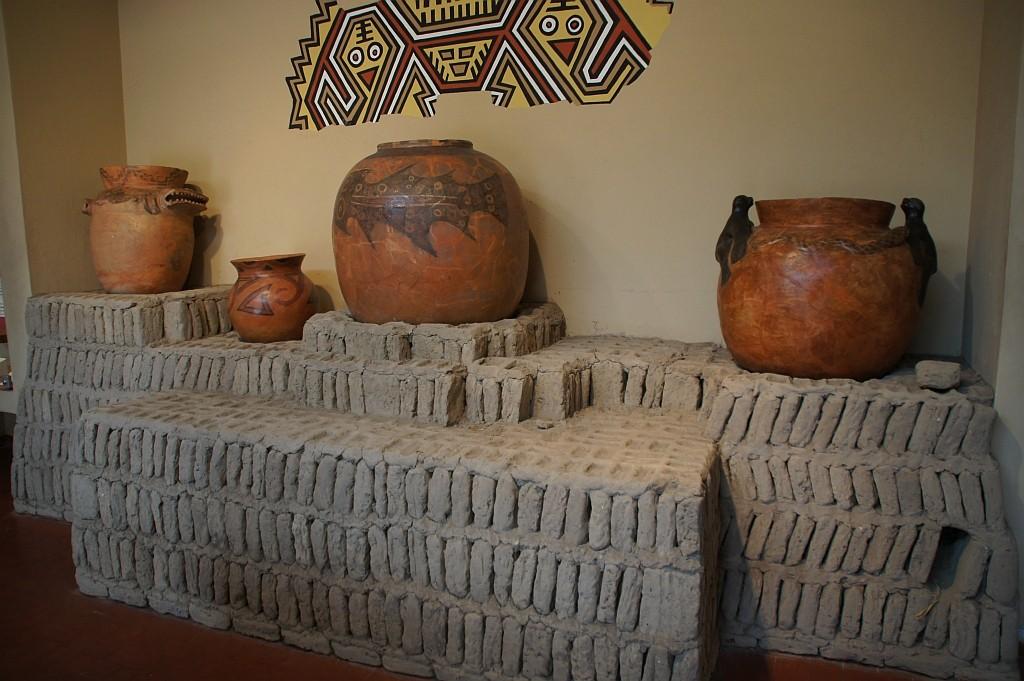 Besuch der Ausgrabungen von Huaca Pucllana