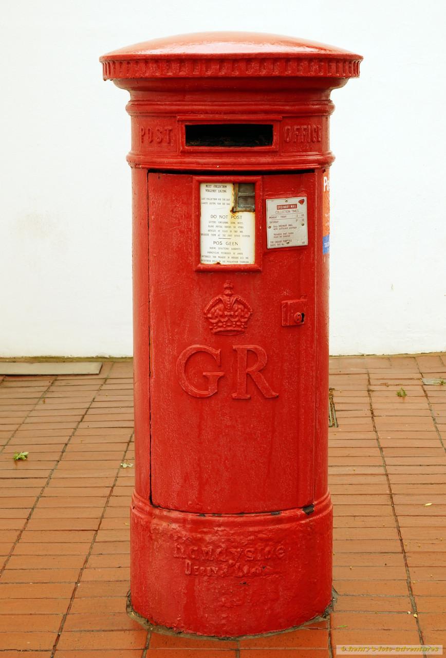alter englischer Briefkasten