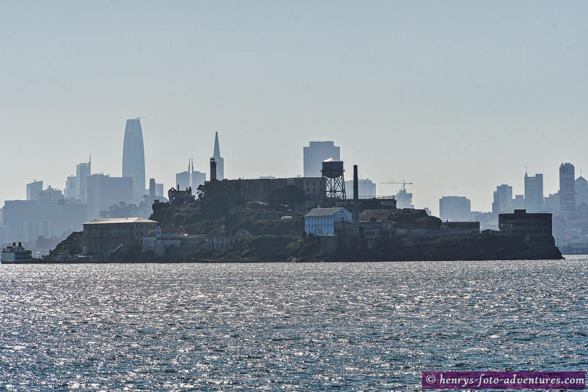 die Gefängnisinsel Alcatraz