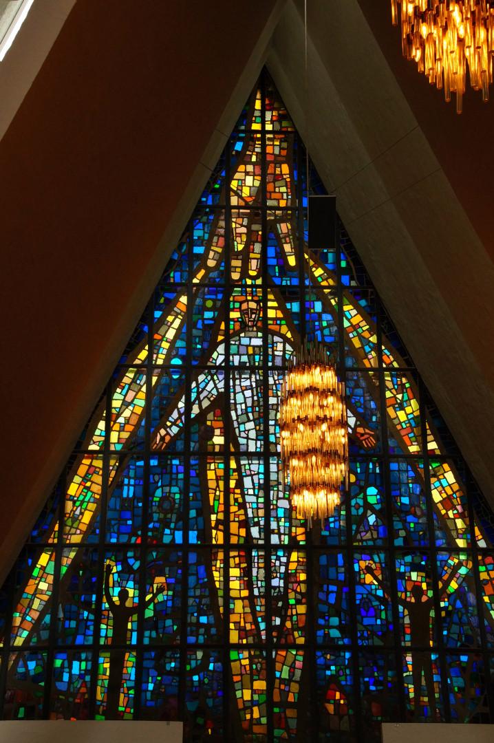 einwunderbares Mosaikfenster