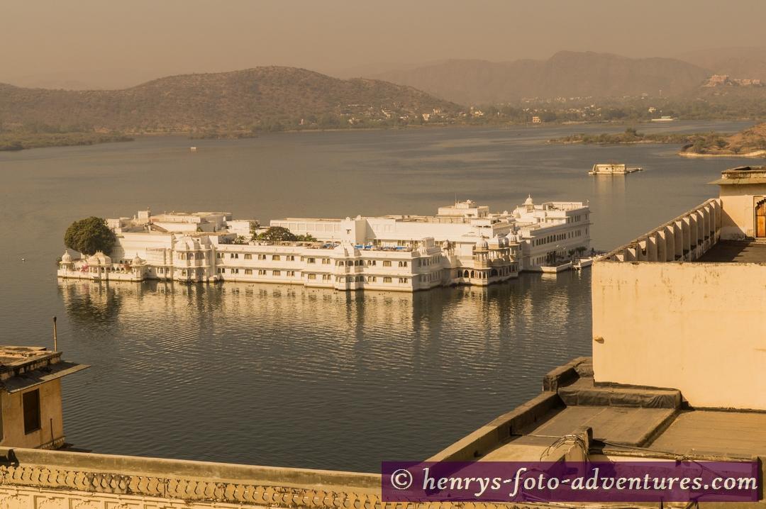 Blick auf den Seepalast