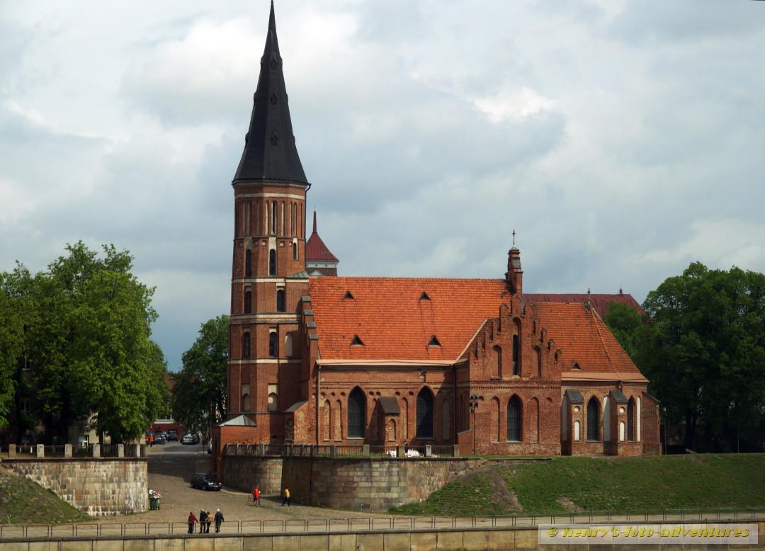 die Vytaus-Kirche, eine der ältesten gotischen Backstein-Bauten