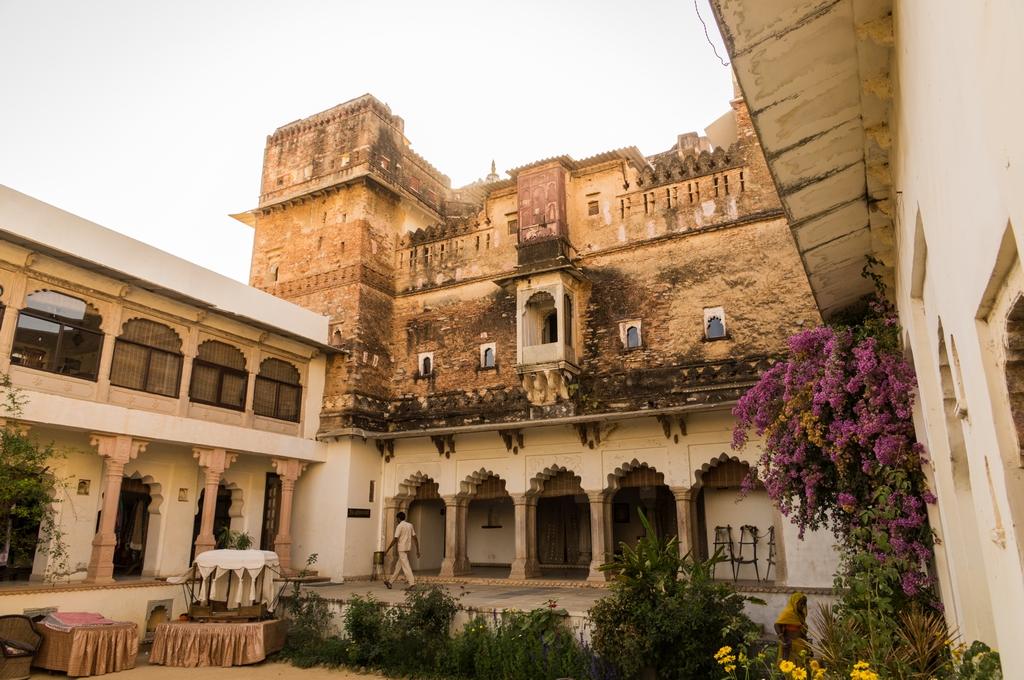 """Bijaipur, """"Hotel Castle Bijaipur"""", wieder mal in einem alten Schloss"""