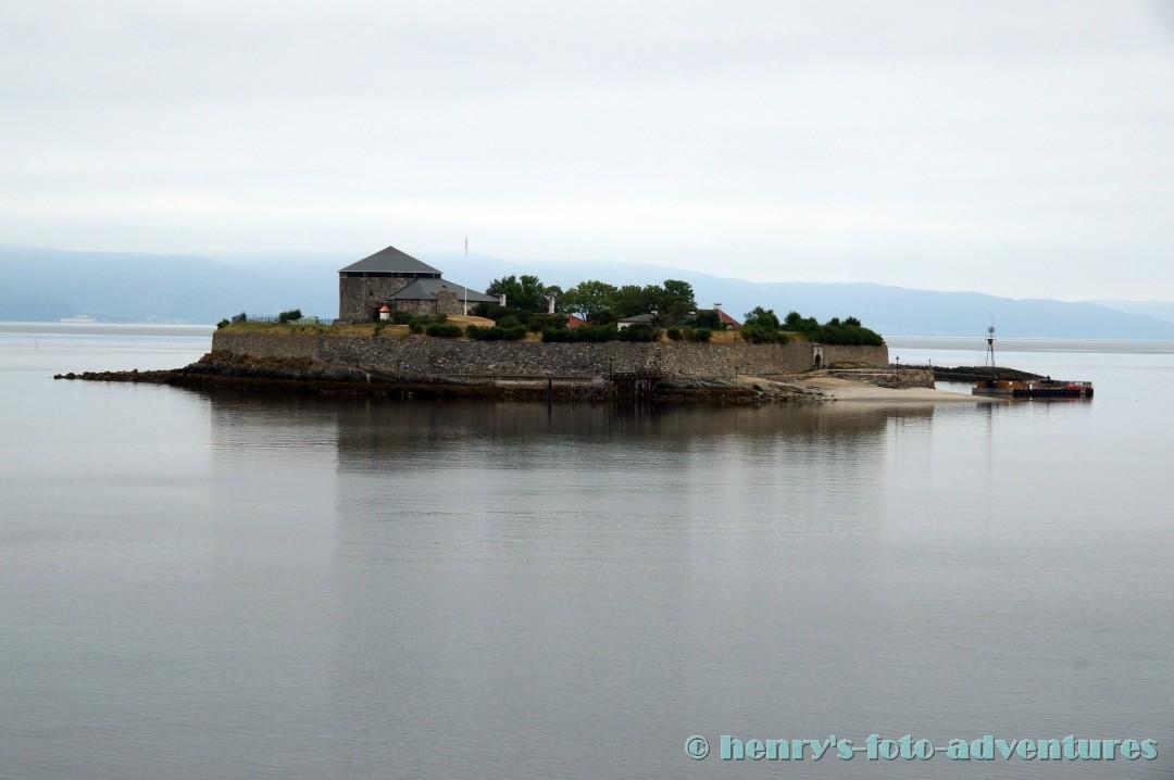 Insel Munkholmen (Mönchsinsel)
