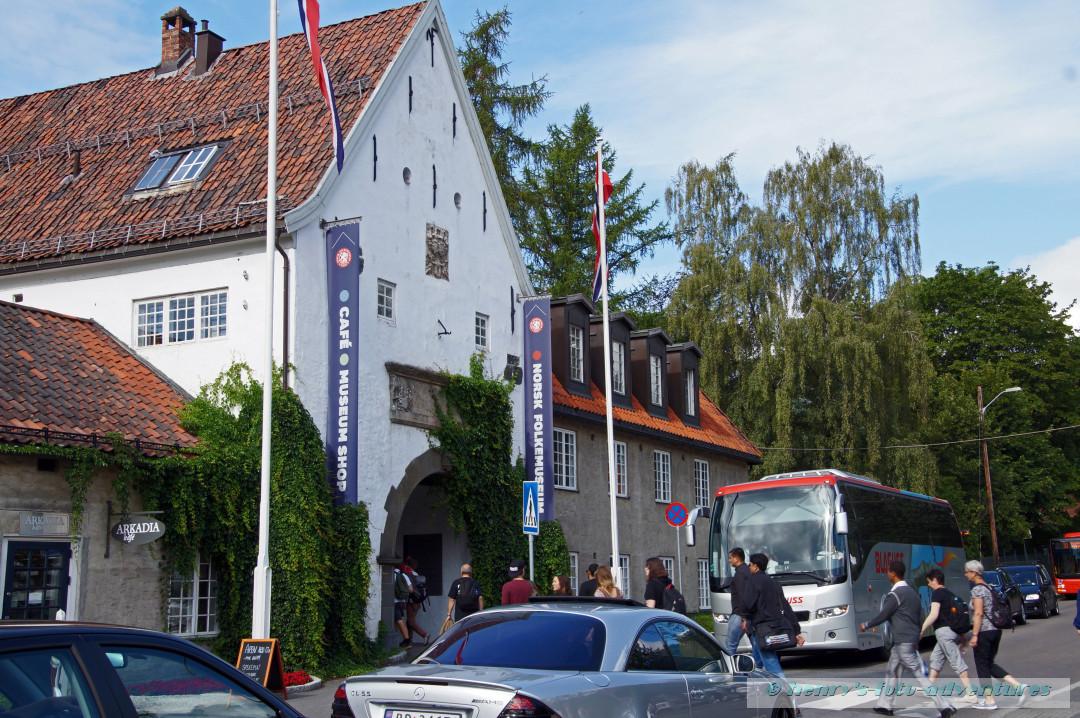 Eingang in das Freilichtmuseum