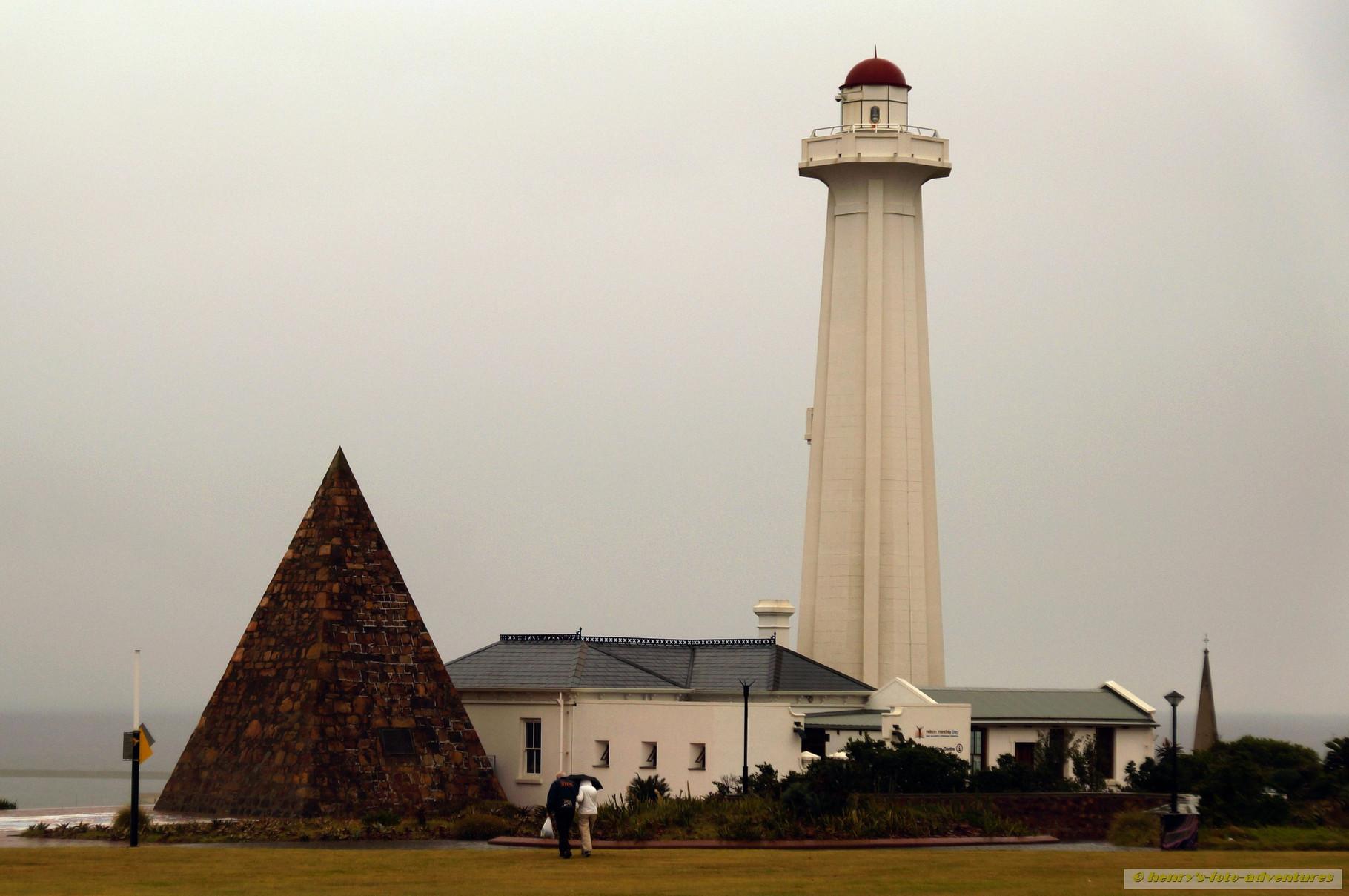 der alte Leuchtturm von Port Elizabeth