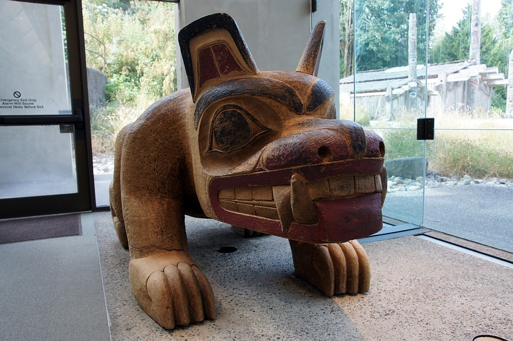 Antropologisches Museum, the HAIDA BEAR
