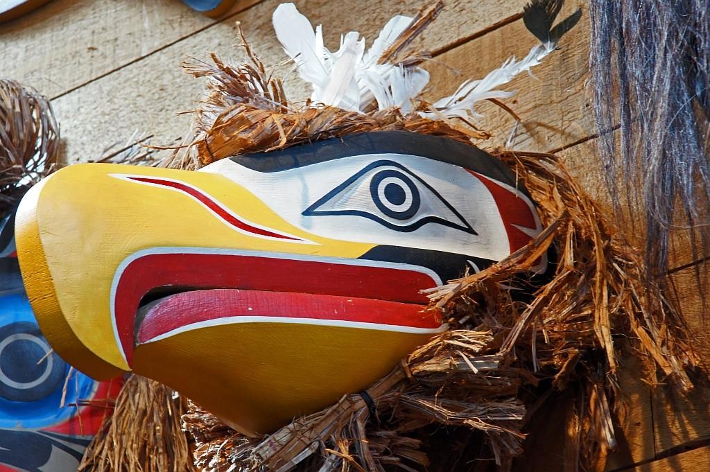Eagle-Maske