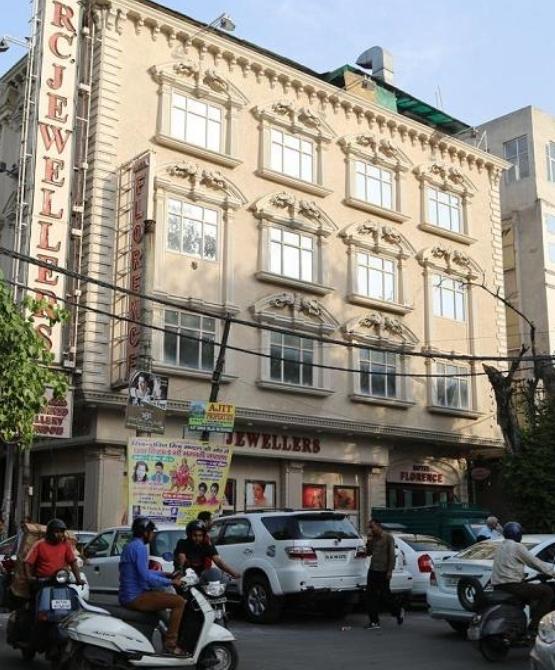 "Delhi, ""Hotel Florence"", die Umgebung war ja nicht besonders"