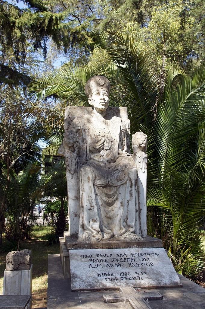 der erste Äthiopische Patriarch