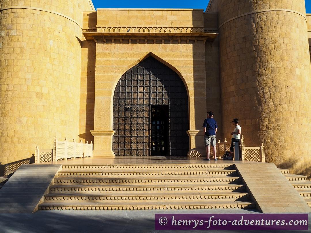 """Jaisalmer, """"Hotel Rang Mahal"""", neu gebaut wie eine alte Festung"""