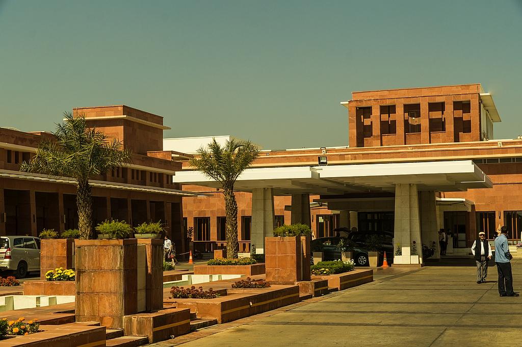 """Agra, """"Palace Hotel"""", als Ausweiche für das bestzte Hotel Crystal Sarover einfach toll"""