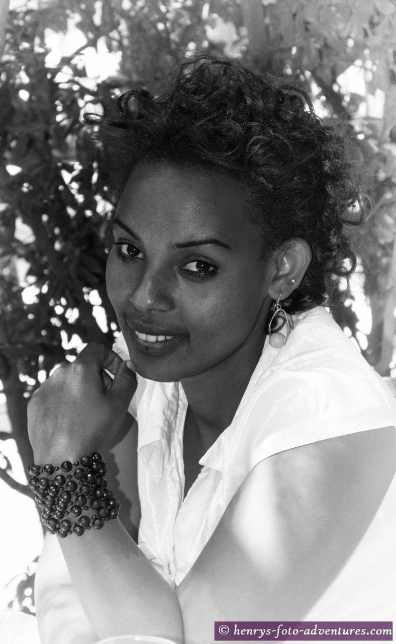 """wieder in Addis Abeba, die """"echten"""" Äthiopier haben ein besonders feines Gesicht"""