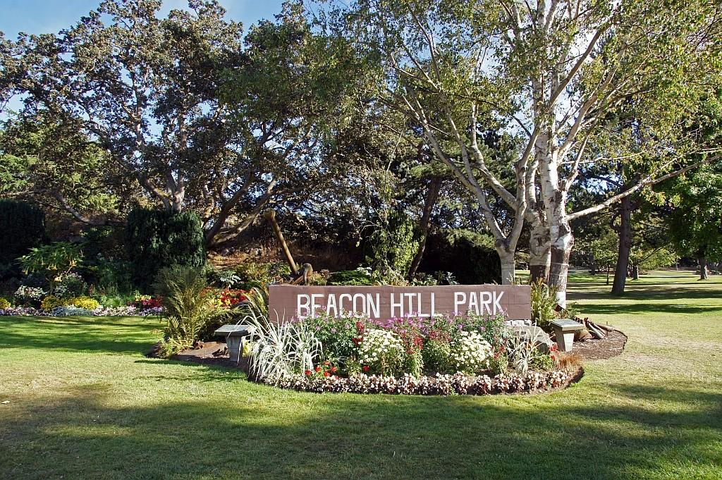 Spaziergang durch den Beacon Hill Park