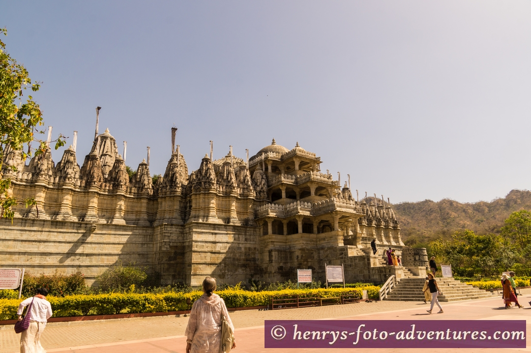 und wieder ein wunderbarer Jain Tempel
