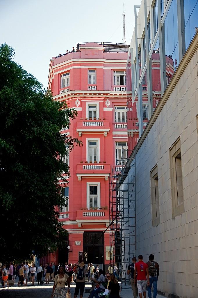 """Hotel """"Ambos Mundos"""", hier hatte Ernesto ein Zimmer"""