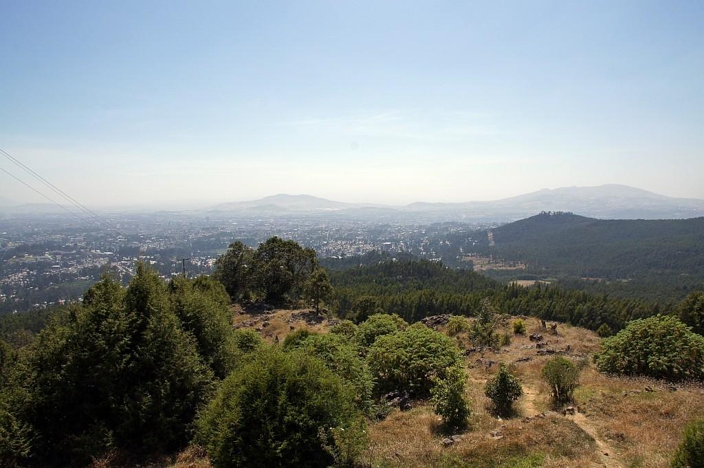 Abschieds-Blick auf Addis Abeba