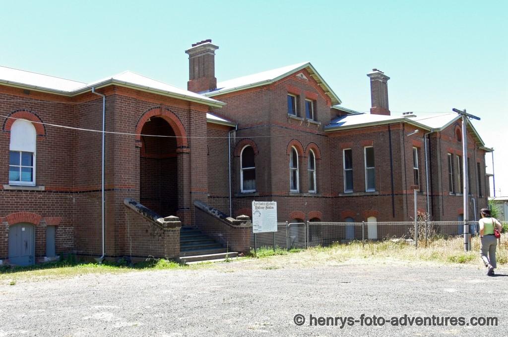 ein alter Bahnhof