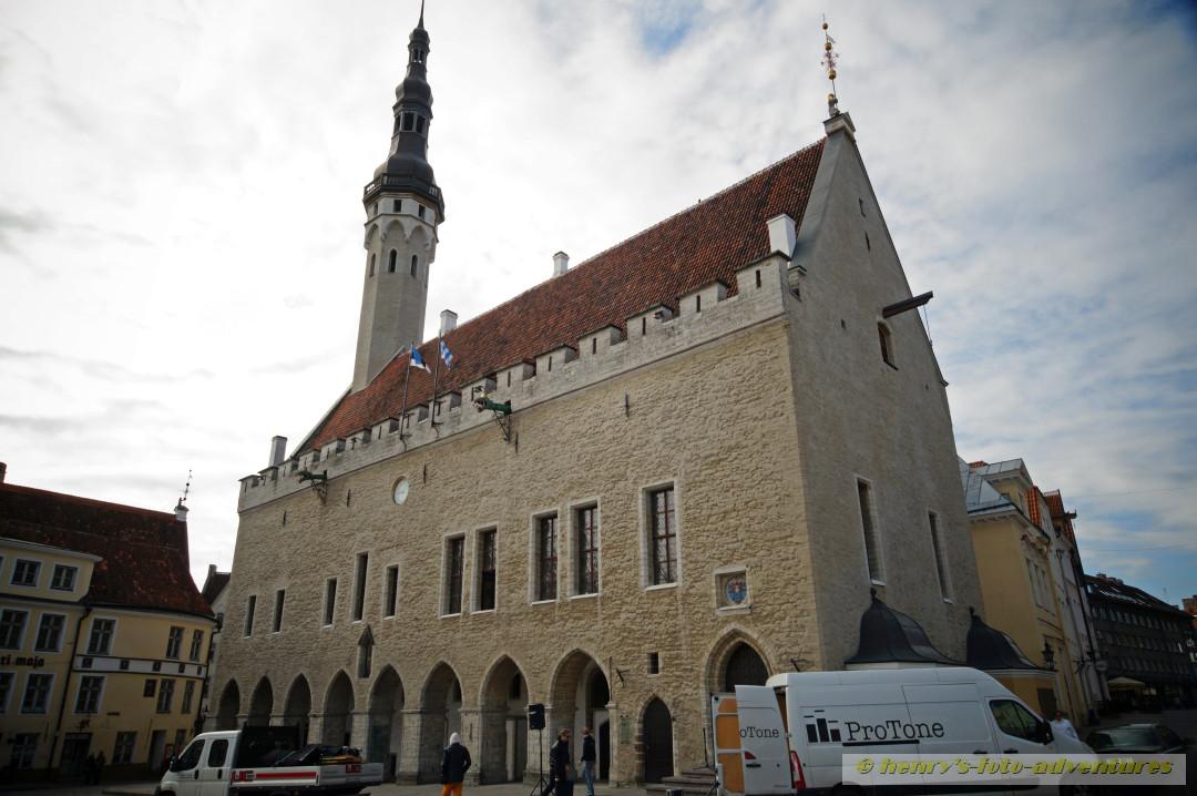 das Rathaus von Tallin
