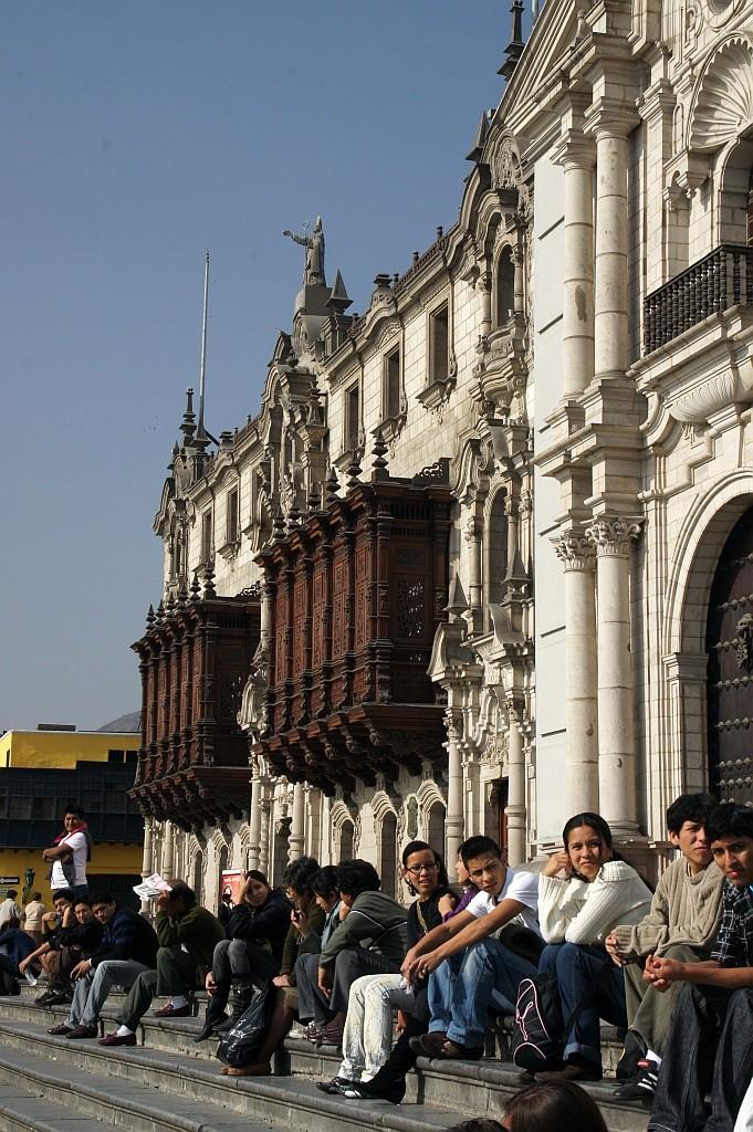 auf der Plaza Mayor