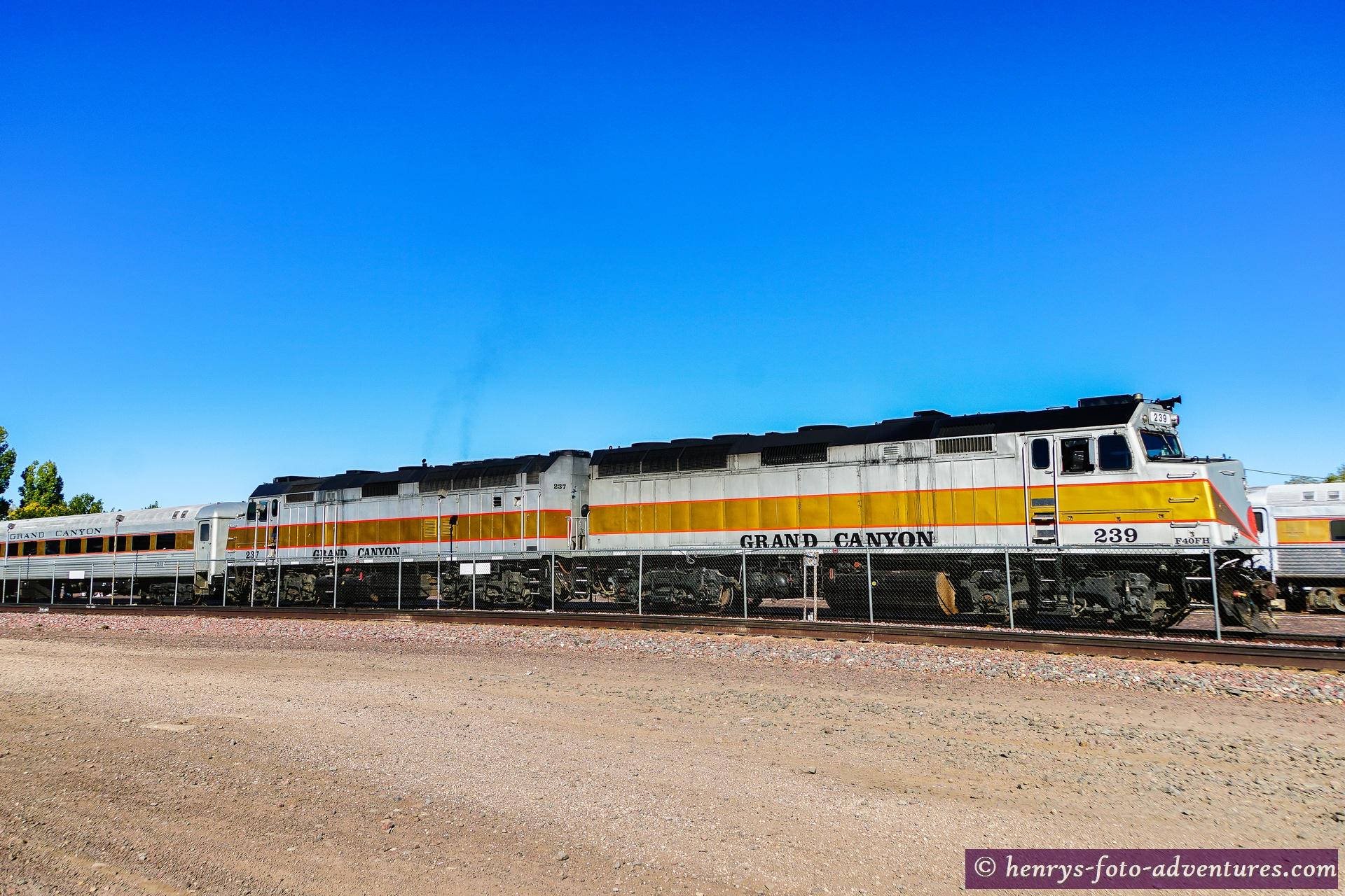 der Grand Canyon Train
