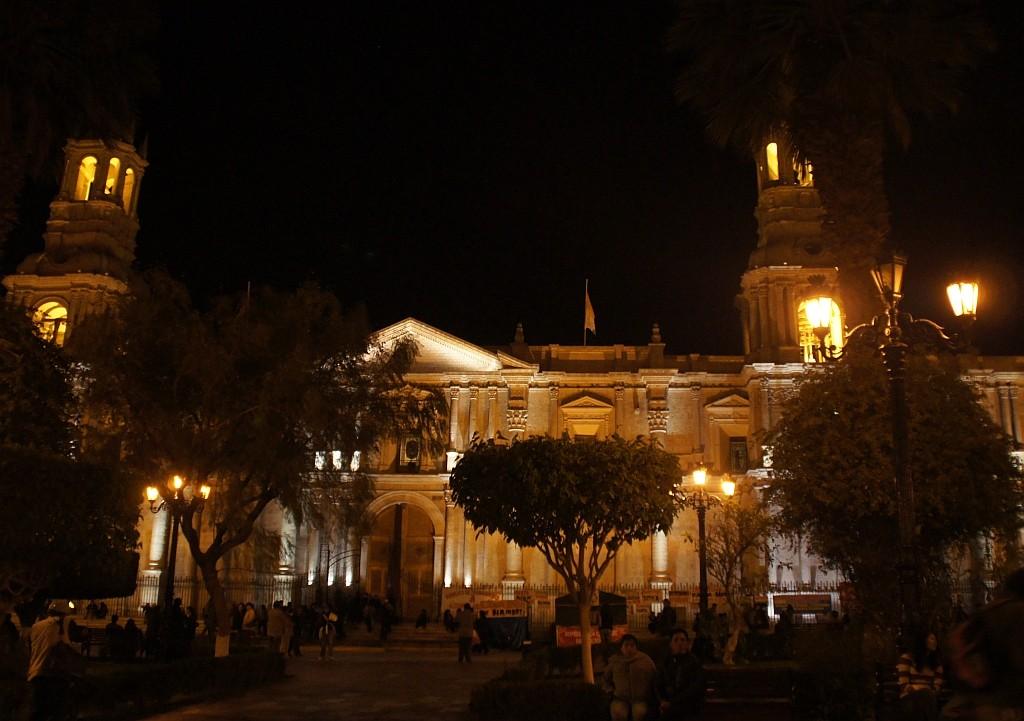 Gute nacht Arequipa