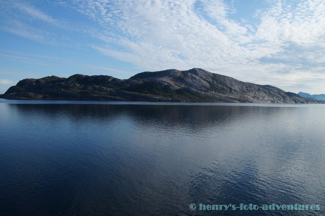 07:06- 66° nBr, wir überqueren den Polarkreis