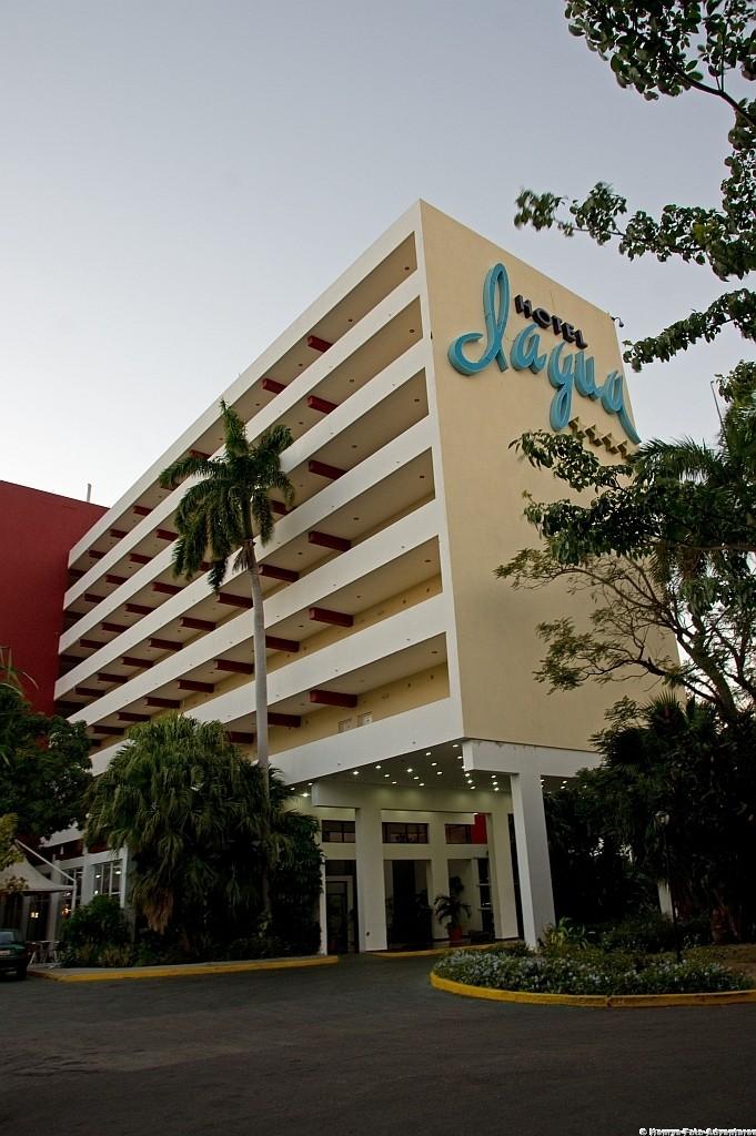 unser Hotel in der Bucht