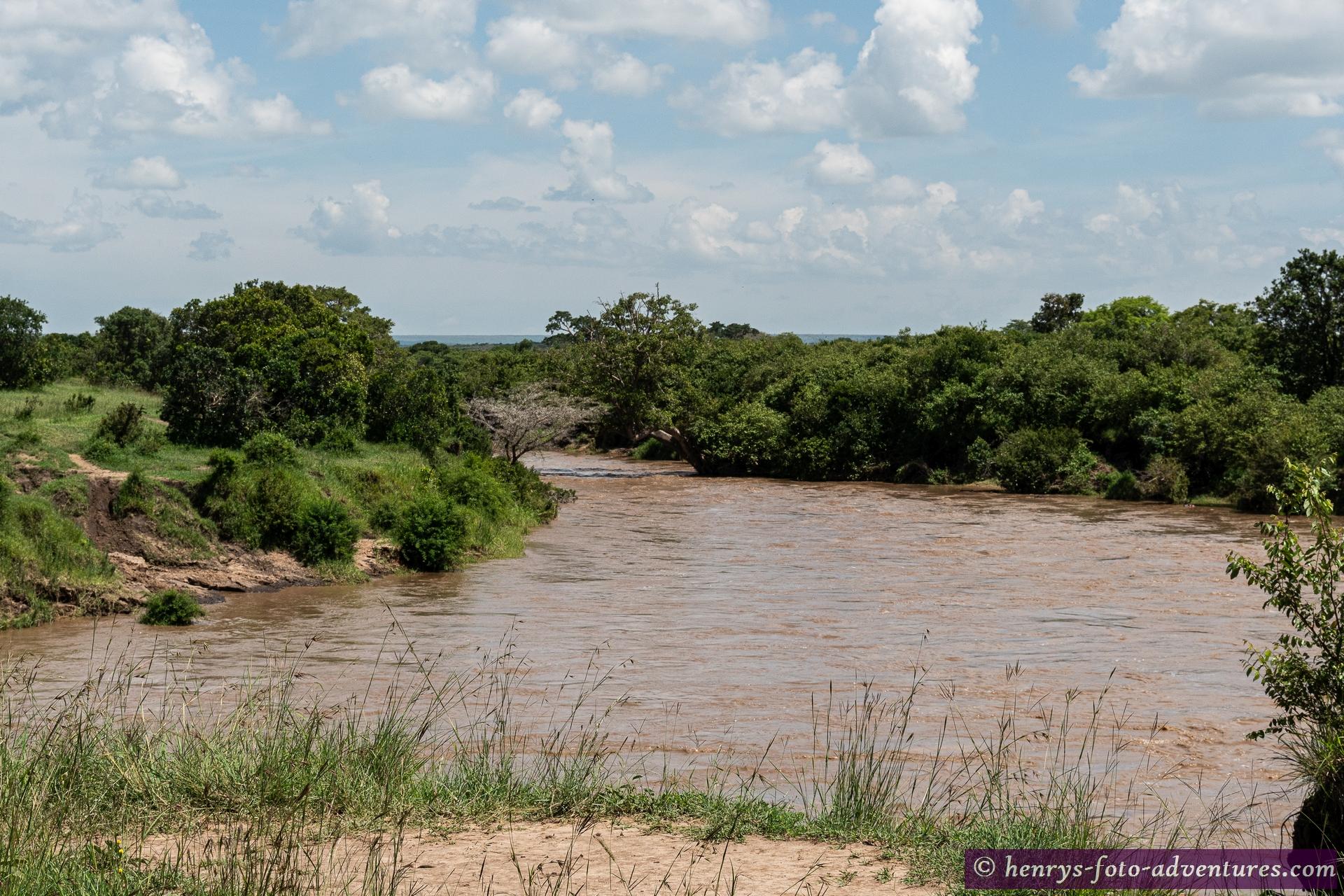 die Flüsse führen heuer noch viel Wasser