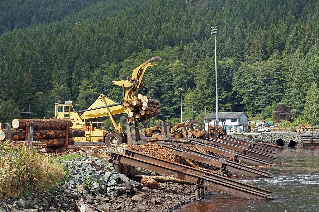 Saywards, Holz ist hier ein wichtiger Wirtschaftszweig