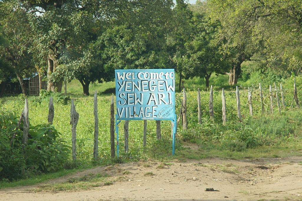 Im Dorf der Ari