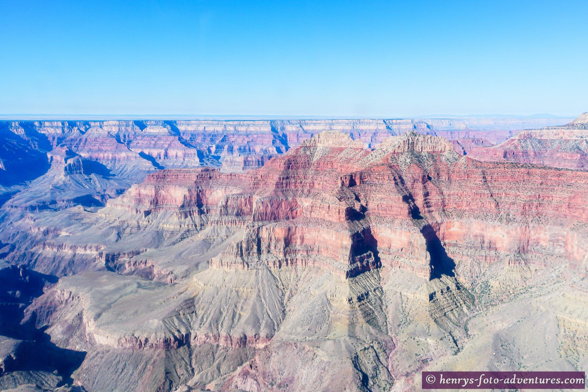 wir überqueren fast den ganzen Canyon