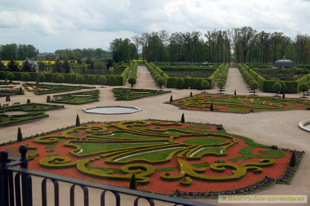 ein hübscher Barockgarten