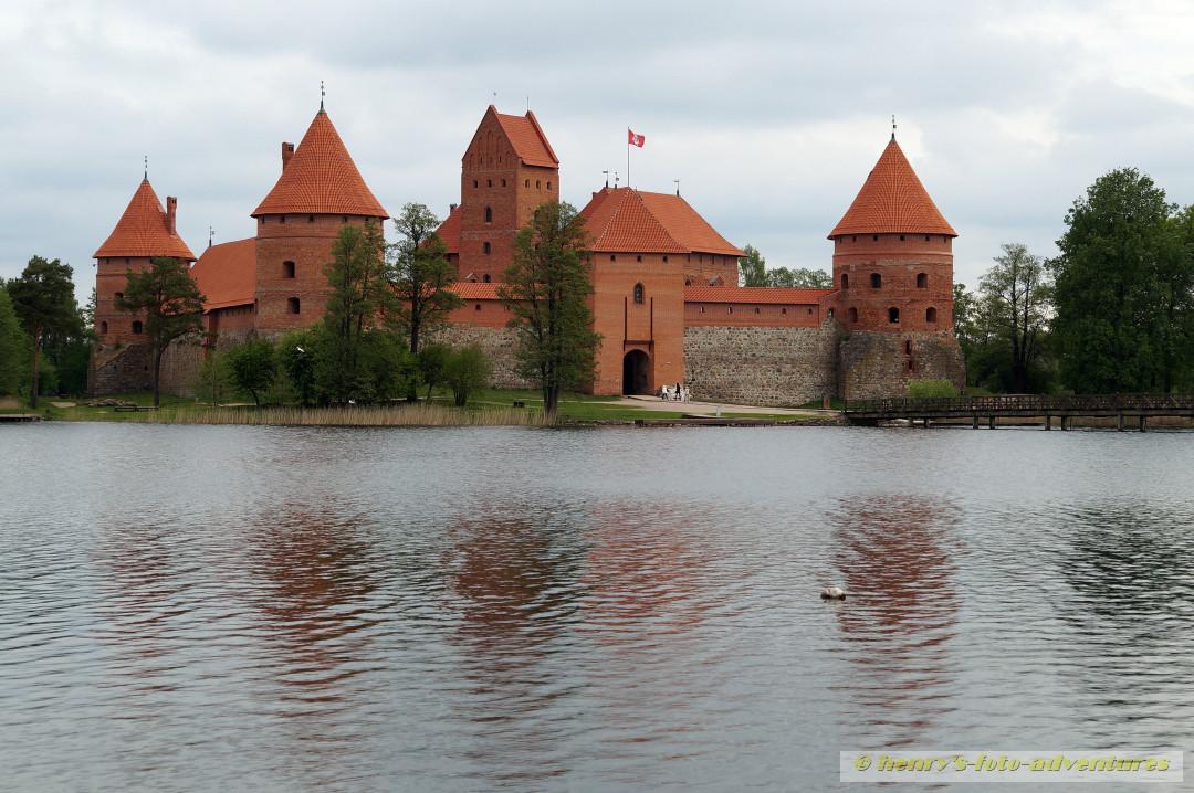 die Wasser-Burg TRAKI ist heute ein Historisches Museum
