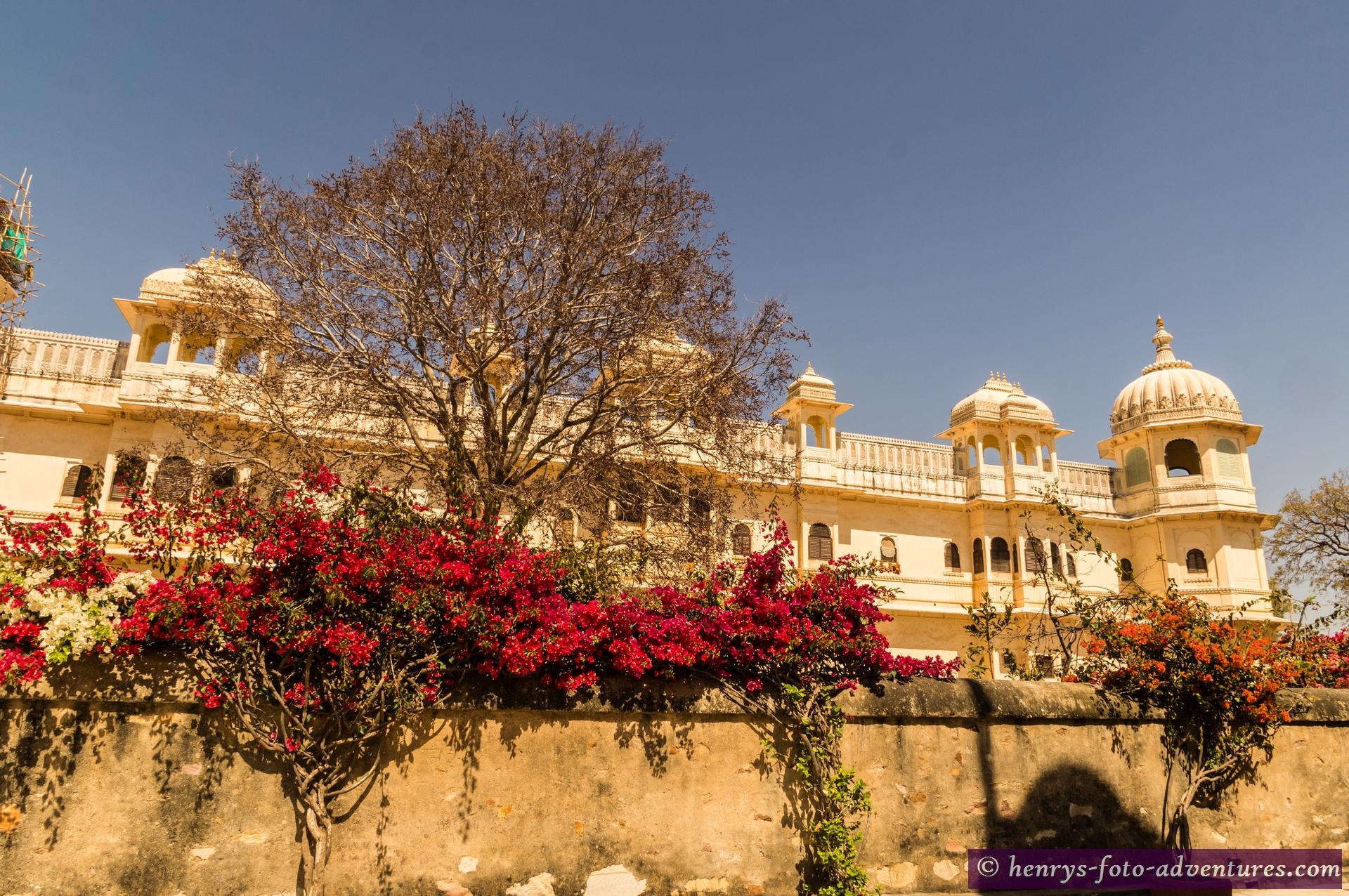 der moderne Fateh Prakash-Palast (Maharana Fateh Singh starb erst 1930)