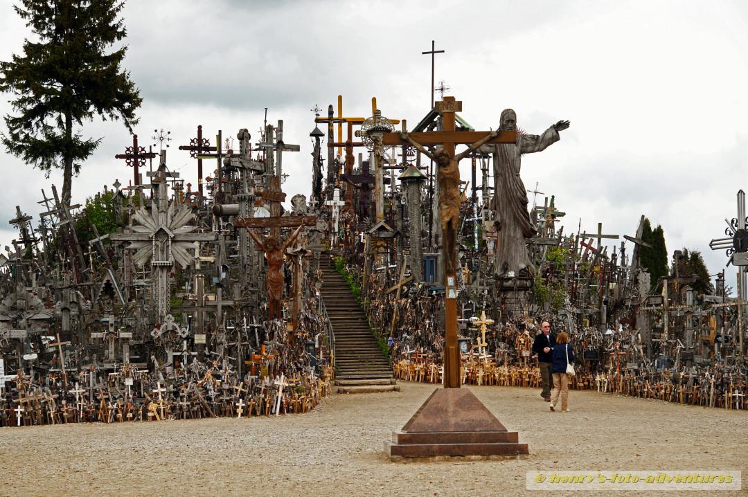 der Berg der Kreuze
