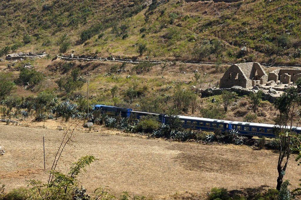 der Machu picco Train