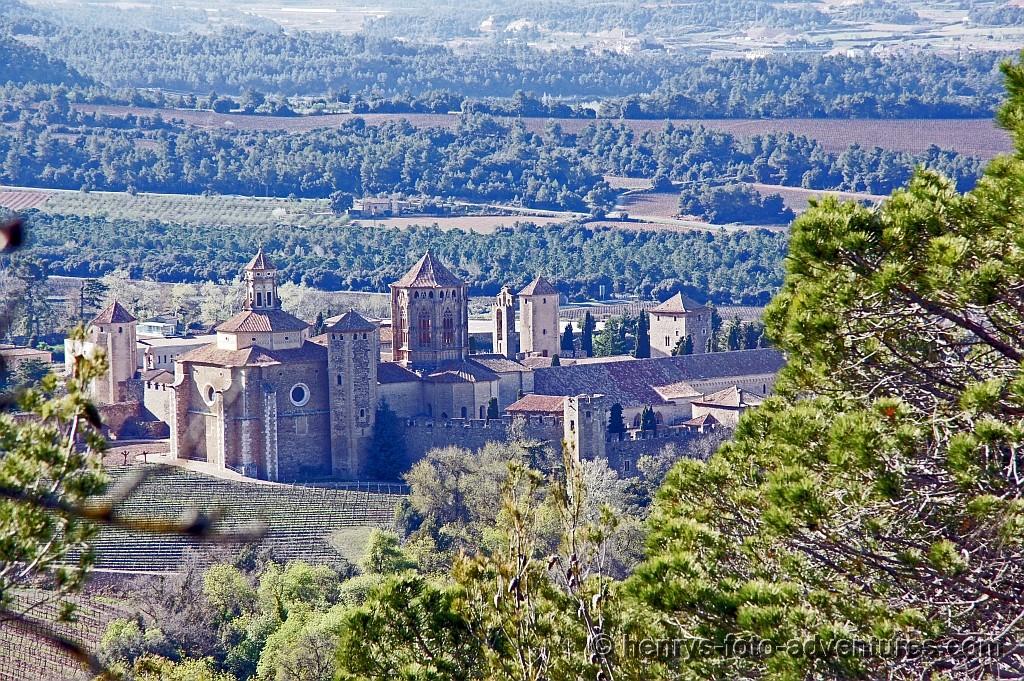 das Kloster, eine riesige Anlage