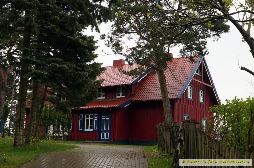 das Sommerhaus der Familie des Dichters THOMAS MANN