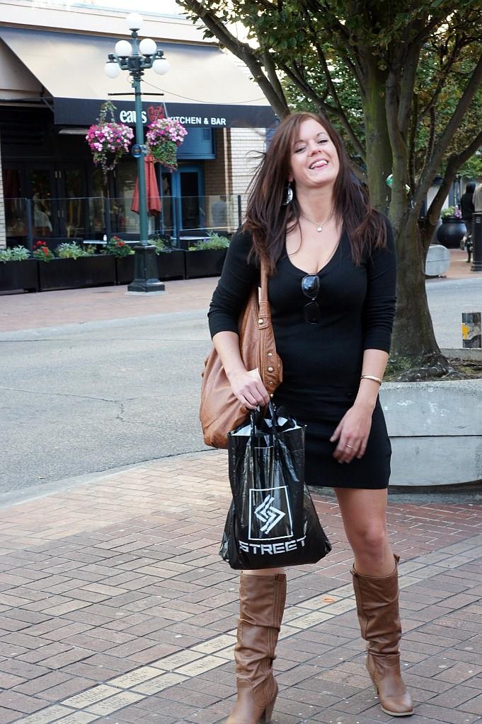 auch hier gehen die Damen gerne Shopping