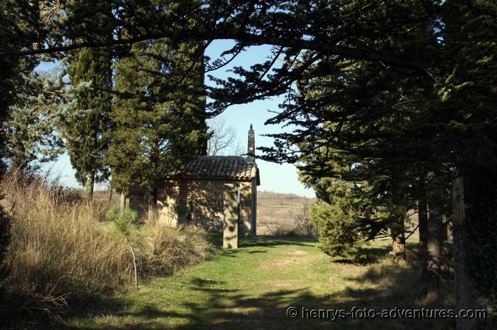 kleine Kapelle am Ende des Kreuzweges