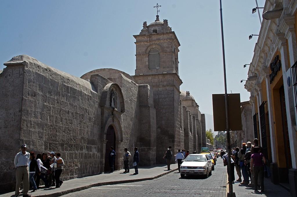 das Kloster Santa Catalina, bis vor Kurzem eine geschlossene Stadt in der Stadt
