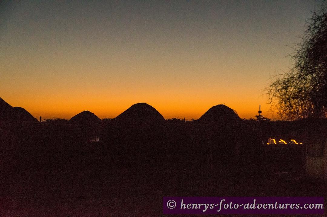 es ist früh am Morgen und noch sehr kalt in der Wüste