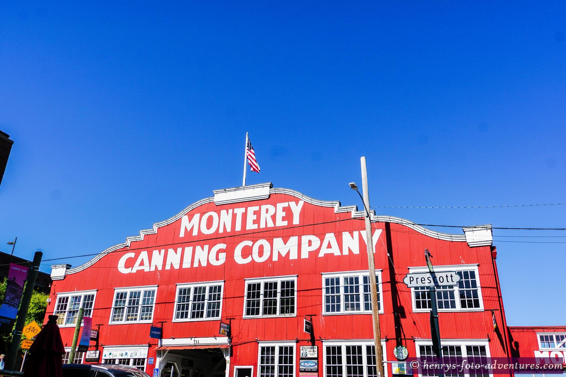die alte Fischfabrik - heute ein Kaufhaus