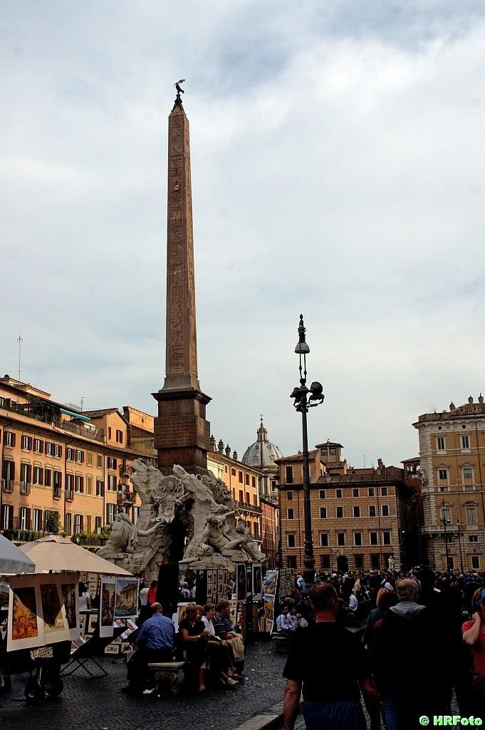 Piazza Navonna mit Brunnen der vier Kontinente