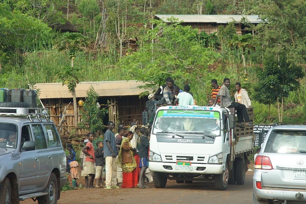 LKW, als öffentliches Verkehrsmittel