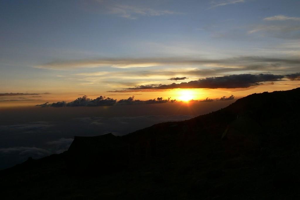 und wieder ein wunderschöner Sonnenuntergang